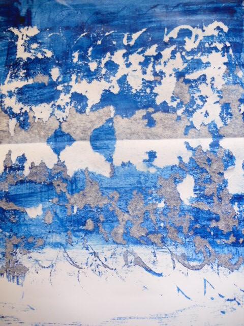 Grösse: 20cm x 26cm Rahmen 52cm x 60cm Acryl auf Papier